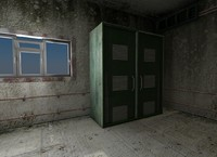 jail prison cartoon 3d model