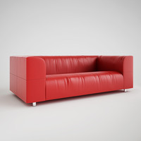 Wrinkled Leather Sofa