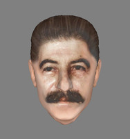 Stalin head photorealistic