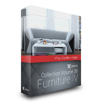 volume 38 furniture iv 3d max