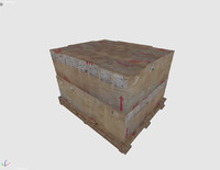 carton boxes 3d model