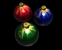 3d model of christmas ball