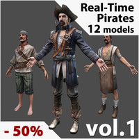 Real-Time Pirates Collection Vol. 1