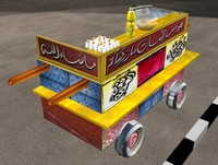 3d local food car