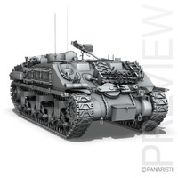 3d m4 sherman arv model