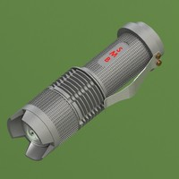 3d flashlight light