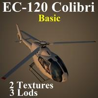 3d eurocopter basic model