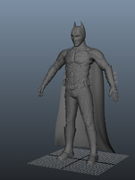 3d model simple batman
