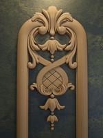 3d carved floral ornament