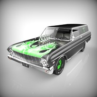 1964 Ford Falcon Delivery Custom
