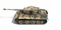 pz vi tiger 3d model