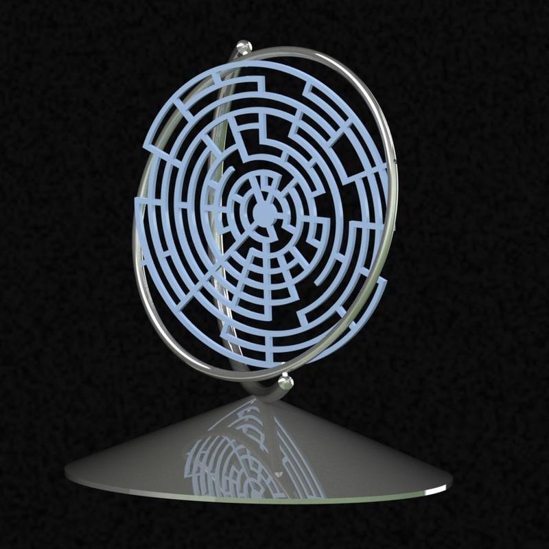 maze 3d globes