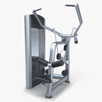 trainer pulldown 3d model