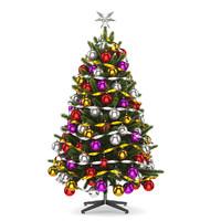 tree christmas 3d model