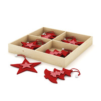 3d model box decoration christmas