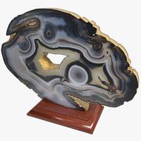 agate stone 3d max