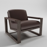 3d model arizona armchair - artefacto