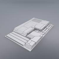 Flat Hull Detail Segment 2