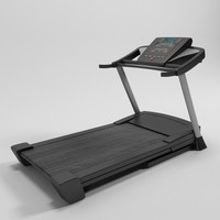 3d model of jogging machine - esteira
