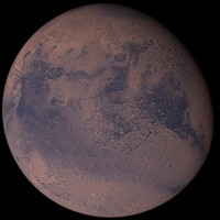 photorealistic mars 3d model