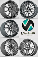 3d model oz racing rims