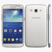 3d model of realistic samsung galaxy grand