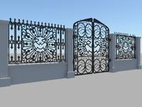 3d ma spooky gate