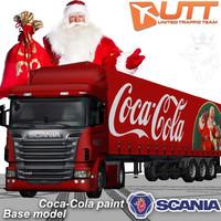 scania trailer 3d model