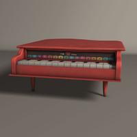 maya piano toy