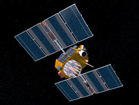 3d max gps satellite