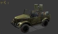 uaz jeep 3d max