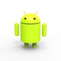 android logo 3d max