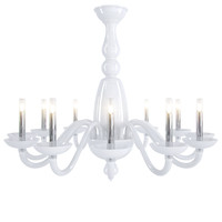 3d barovier toso palladiano chandelier model