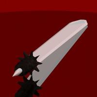 3d model combat sword