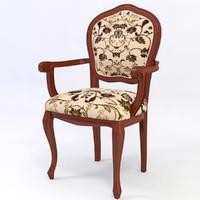 3ds max modern armchair