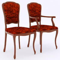 selva chair 3d model