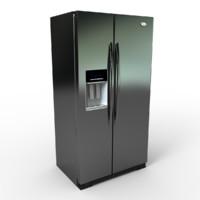 wd6971y refrigerator 3d model