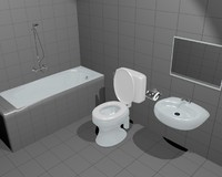 bathroom bath room 3ds