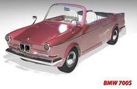 bmw 700s 1963 3d model