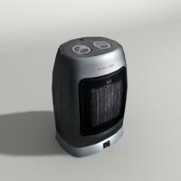 3d fan heater model