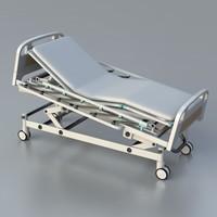 3d max icu hospital bed