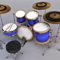 maya mintor drumset