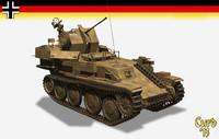3d flakpanzer 38 gepard flak