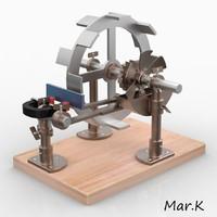 Perpetuum mobile (magnetic whee)