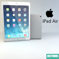 3d model of apple ipad air