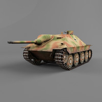 hetzer destroyer vehicles 3d 3ds