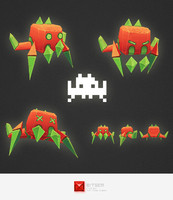ma space invader alien