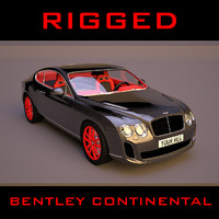 3ds max bentley continental supersports