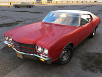 chevelle chevy 1970 3d 3ds