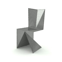 designed steel 3d model